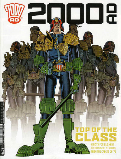 Cover for 2000 AD (Rebellion, 2001 series) #2079