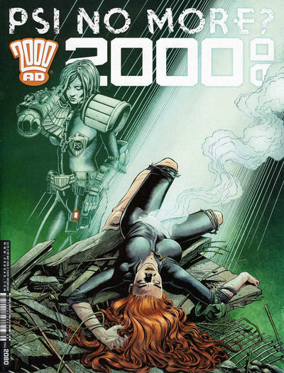 Cover for 2000 AD (Rebellion, 2001 series) #2080