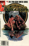 Cover Thumbnail for Tarzan of the Apes (1984 series) #1 [Newsstand]