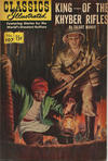 Cover for Classics Illustrated (Gilberton, 1947 series) #107 - King of the Khyber Rifles [HRN 167]