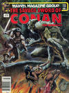 Cover for The Savage Sword of Conan (Marvel, 1974 series) #86 [Newsstand]
