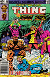 Cover Thumbnail for Marvel Two-in-One (1974 series) #89 [Newsstand]