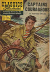 Cover for Classics Illustrated (Gilberton, 1947 series) #117 - Captains Courageous [HRN 167]
