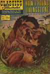 Cover for Classics Illustrated (Gilberton, 1947 series) #115 [O] - How I Found Livingstone [HRN 167]