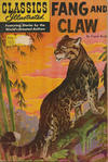 Cover for Classics Illustrated (Gilberton, 1947 series) #123 [O] - Fang and Claw [HRN 167]
