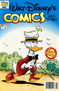 Cover for Walt Disney's Comics and Stories (Gladstone, 1993 series) #586 [Direct]