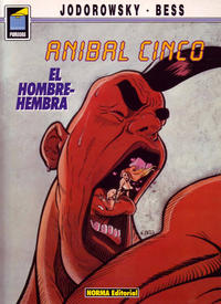 Cover for Pandora (NORMA Editorial, 1989 series) #35 - Aníbal Cinco. El hombre-hembra