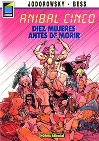 Cover Thumbnail for Pandora (NORMA Editorial, 1989 series) #23 - Anibal Cinco. Diez mujeres antes de morir