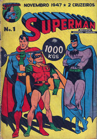 Cover Thumbnail for Superman (1ª Série) (Editora Brasil-América [EBAL], 1947 series) #1
