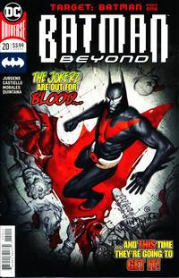 Cover Thumbnail for Batman Beyond (DC, 2016 series) #20 [Viktor Kalvachev Cover]