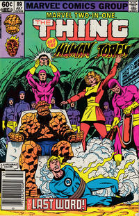 Cover Thumbnail for Marvel Two-in-One (Marvel, 1974 series) #89 [Newsstand]