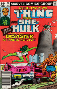 Cover Thumbnail for Marvel Two-in-One (Marvel, 1974 series) #88 [Newsstand]