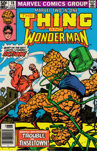 Cover Thumbnail for Marvel Two-in-One (Marvel, 1974 series) #78 [Newsstand]