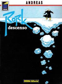 Cover Thumbnail for Pandora (NORMA Editorial, 1989 series) #38 - Rork. Descenso