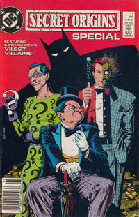 Cover Thumbnail for Secret Origins Special (DC, 1989 series) #1 [Newsstand]