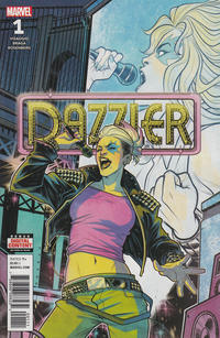 Cover Thumbnail for Dazzler: X-Song (Marvel, 2018 series) #1