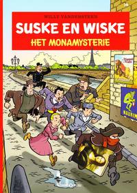 Cover Thumbnail for Suske en Wiske (Standaard Uitgeverij, 1967 series) #341 - Het Monamysterie