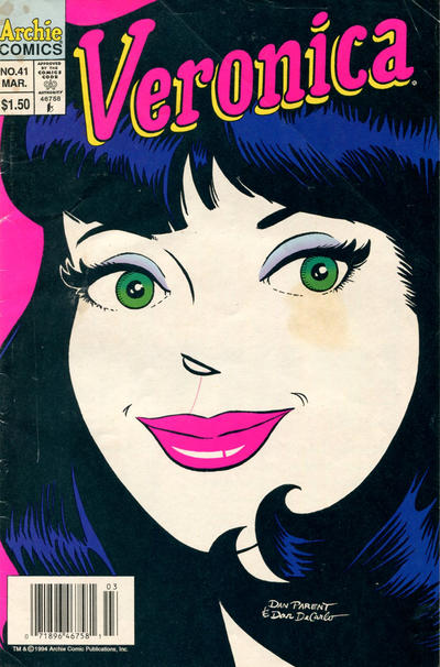 Cover for Veronica (Archie, 1989 series) #41 [Direct Edition]