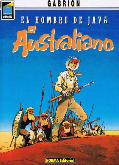 Cover for Pandora (NORMA Editorial, 1989 series) #33 - El hombre de Java. El australiano