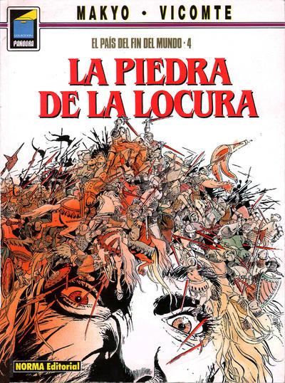 Cover for Pandora (NORMA Editorial, 1989 series) #19 - El país del fin del mundo 4. La piedra de la locura