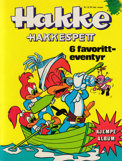 Cover for Hakke Hakkespett album (Romanforlaget, 1972 series) #1