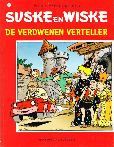 Cover for Suske en Wiske (Standaard Uitgeverij, 1967 series) #277 - De verdwenen verteller