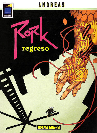Cover for Pandora (NORMA Editorial, 1989 series) #47 - Rork. Regreso