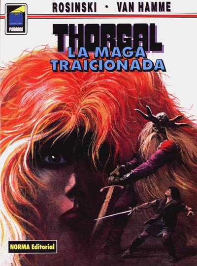 Cover for Pandora (NORMA Editorial, 1989 series) #41 - Thorgal. La maga traicionada