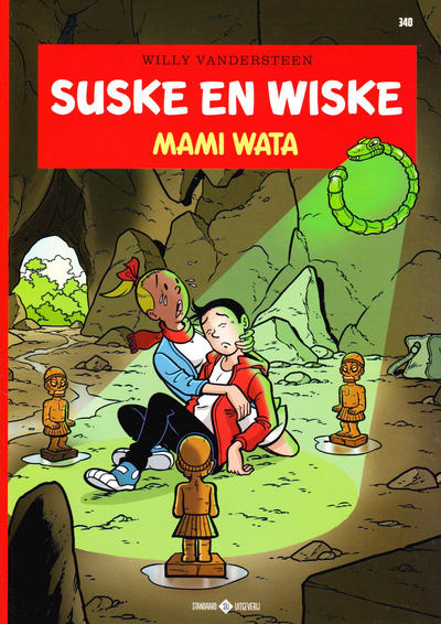 Cover for Suske en Wiske (Standaard Uitgeverij, 1967 series) #340 - Mami Wati