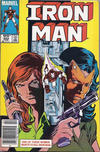 Cover for Iron Man (Marvel, 1968 series) #203 [Canadian Newsstand]