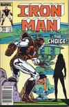 Cover for Iron Man (Marvel, 1968 series) #204 [Canadian Newsstand]