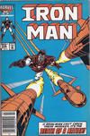 Cover for Iron Man (Marvel, 1968 series) #208 [Canadian Newsstand]