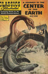 Cover for Classics Illustrated (Gilberton, 1947 series) #138 - A Journey to the Center of the Earth [HRN 167]