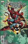 Cover Thumbnail for Amazing Spider-Man (2015 series) #800 [Variant Edition - Ron Frenz Cover]