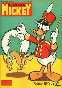 Cover Thumbnail for Le Journal de Mickey (Hachette, 1952 series) #405