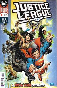 Justice League #1 Cover A Warren Louw Variant KRS Comic