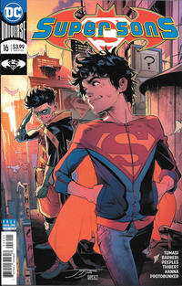 Cover Thumbnail for Super Sons (DC, 2017 series) #16
