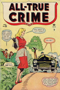 Cover Thumbnail for All True Crime Cases Comics (Bell Features, 1948 series) #31
