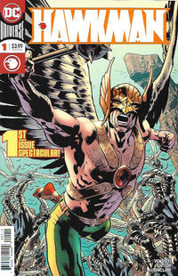 Cover Thumbnail for Hawkman (DC, 2018 series) #1 [Bryan Hitch Cover]