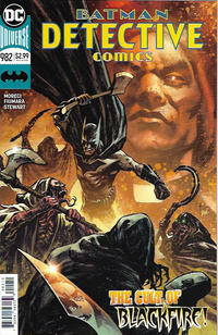 Cover Thumbnail for Detective Comics (DC, 2011 series) #982