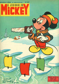 Cover Thumbnail for Le Journal de Mickey (Disney Hachette Presse, 1952 series) #447