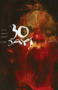 Cover Thumbnail for 30 Days of Night (IDW, 2018 series) #1 [Cover RI Ashley Wood]