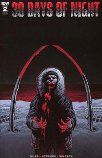 Cover Thumbnail for 30 Days of Night (IDW, 2018 series) #2 [Cover RI-A Gabriel Rodriguez]