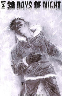 Cover Thumbnail for 30 Days of Night (IDW, 2017 series) #2 [Cover RI-B Ben Templesmith]