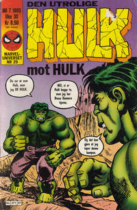 Cover Thumbnail for Hulk (Semic, 1984 series) #7/1985