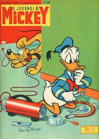 Cover Thumbnail for Le Journal de Mickey (Hachette, 1952 series) #452