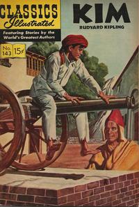 Cover Thumbnail for Classics Illustrated (Gilberton, 1947 series) #143 [O] - Kim [HRN 167]