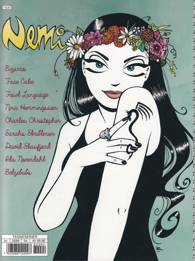 Cover for Nemi (Gyldendal Norsk Forlag, 2018 series) #164