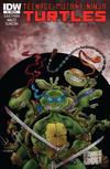 Cover for Teenage Mutant Ninja Turtles (IDW, 2011 series) #1 [Cover RI-C - Sam Kieth Variant]