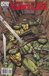 Cover for Teenage Mutant Ninja Turtles (IDW, 2011 series) #2 [Cover RI-A - Kevin Eastman Variant]